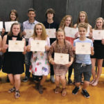 Swanton Middle School students awarded