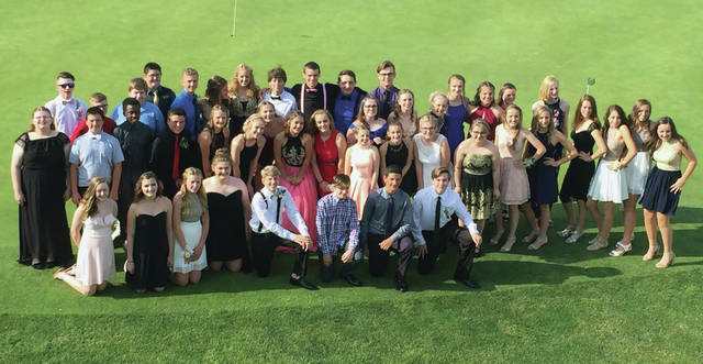 Swanton Middle School students had a chance to dress up last week. The eighth grade graduation formal was held at Valleywood Golf Club on Friday.