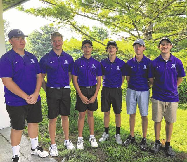 The Swanton golf team picked up a win at a NWOAL tri-match at Spuyten Duyval Thursday. The Bulldogs bested Wauseon and host Evergreen, 167-169-194.