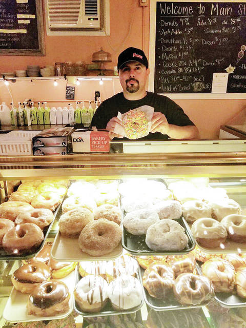 Main Street Bakery and Coffee owner Bob Hyott said he's overwhelmed by the support of the community.
