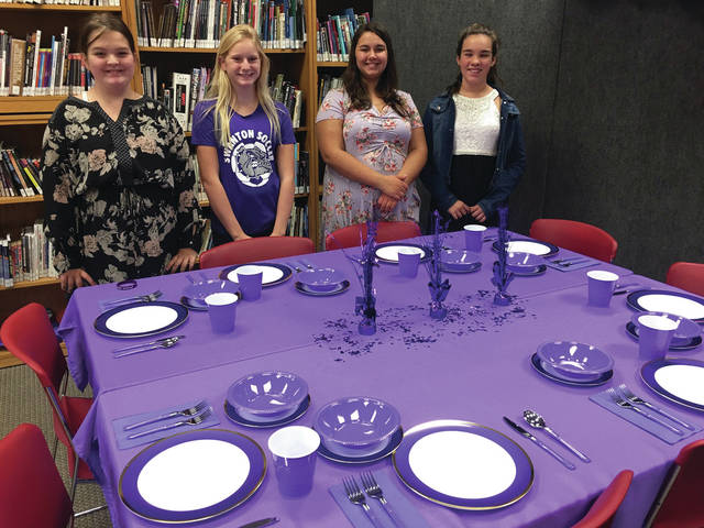 A Manners Luncheon was recently held at Swanton Middle School with local business leaders. Students competed to see who set the best table, had the best table manners, and could carry on a conversation. The event was part of the Swanton Seven Initiative to bring essential skills into the school curriculum with intentionality.