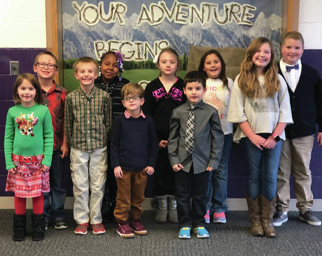 This year's Christmas in Swanton princes and princesses have been announced. They are, front row, from left, Paityn Hendricks, Nathan Adams, Benzen Remer, Riker Stasisk-Irons, Ellianna Poole; and back row, Eli Varble, Kamiyah Herbert, Mariah Holmes, Kaitlynn Baker and Mitchell Young. Christmas in Swanton is Saturday, Dec. 1. Among the planned activities are a parade and a craft show.