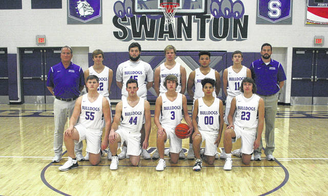 The 2018-19 Swanton boys basketball team.