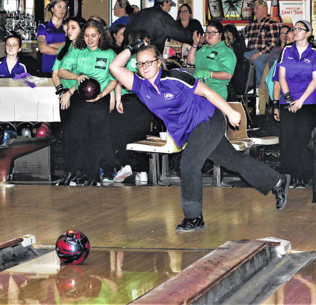Amy Lawson of Swanton rolled a 478 series total during a match versus Delta last Monday. She added a 386 series in Friday's win over Evergreen.