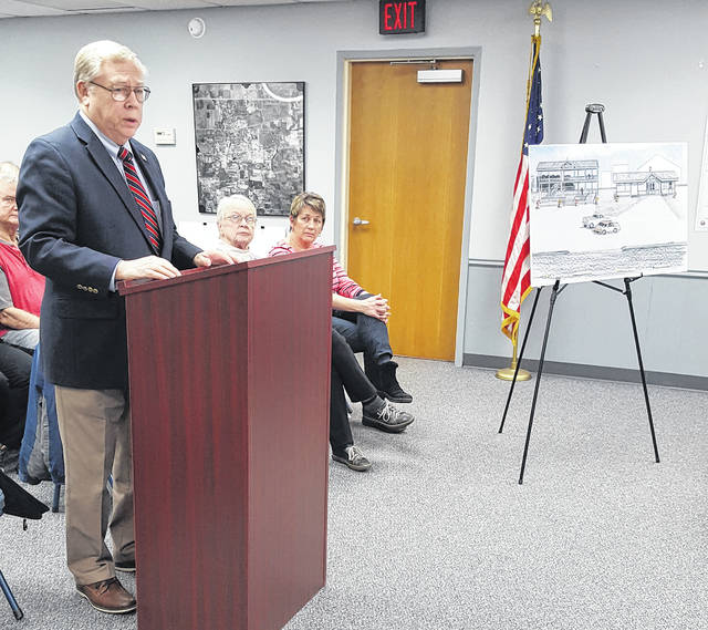 Neil Toeppe spoke to Swanton Village Council last Monday on the possibility of bringing railroad related history to Chestnut Street.