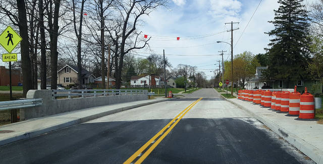 After a longer than expected wait, the Garfield Avenue bridge in Swanton opened to traffic on Wednesday. The bridge was in poor condition and had to be completely rebuilt. Delays at the start of the project and harsh November weather combined to extend the closure of Garfield Avenue through the winter.