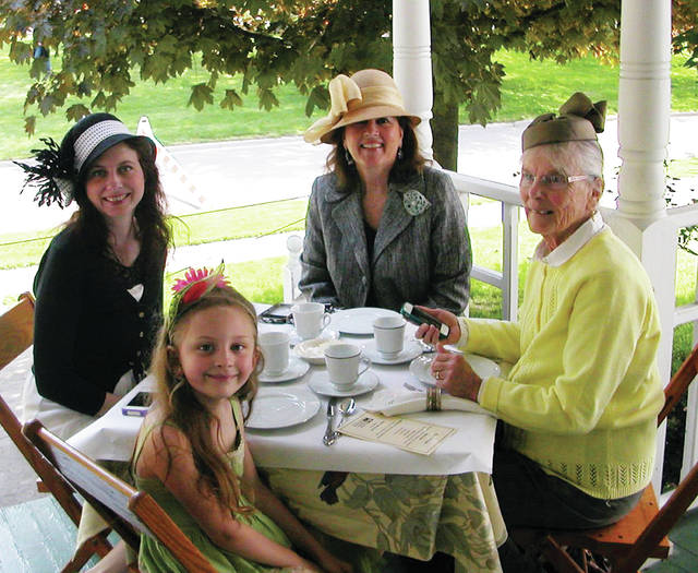 The Museum of Fulton County will present Mother's Day HistorTEA, a three-course tea and program, Saturday, May 18, with seatings at 11 a.m., noon, and 1 p.m. at History Manor, 229 Monroe St., Wauseon. Tickets for the hour-long event are $15; tickets are $12.50 for members of the Museum of Fulton County. Prepayment required. For reservations, call 419-337-7922. Bring stories of an influential woman in your life to share.