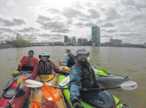 Locals kayak entire Maumee River