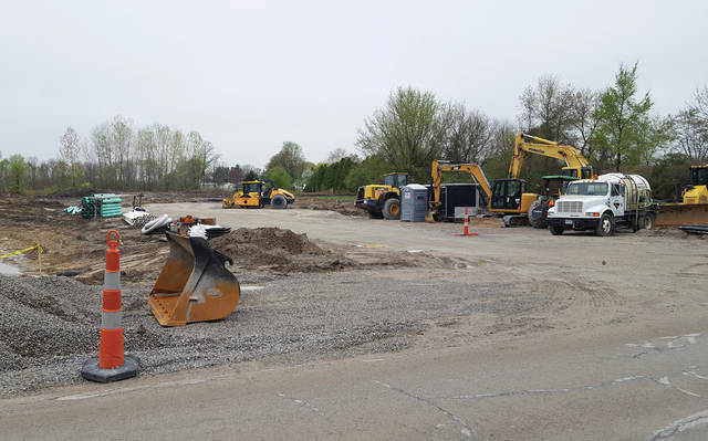 Construction has begun on Swan Creek Crossing, a new senior housing community being developed in Swanton by Spire Development. The building, on Munson Road between Dodge Street and the railroad tracks, is slated to include 28 units.