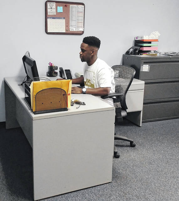 Xavier Williams works in the Springfield Local Schools treasurer's office.