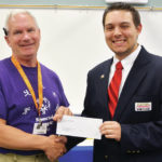 A gift for Special Olympics
