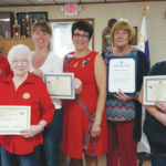 Swanton Auxiliary wins awards