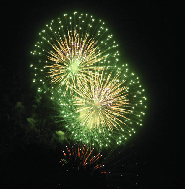 Swanton's fireworks are planned for Saturday.