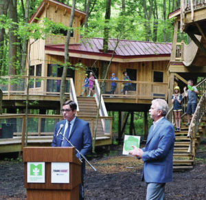 Yark donation nearly completes funding for Treehouse Village in Swanton