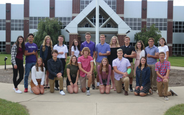 The 2019 Swanton High School Homecoming Court.