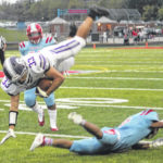 Bowsher slips by Swanton