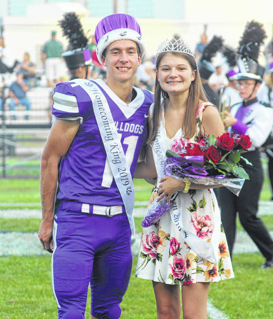Swanton High School celebrated Homecoming with a variety of activities last week. Swanton Homecoming King Riley Hensley and Queen Amber Never were named Thursday and then announced on Friday before the football game, above.