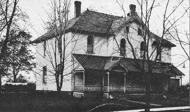 """History Manor, formerly the Fulton County Historical Museum, in Wauseon served as a hospital at the time this photo was taken, circa 1908. The building is reputed to be haunted, and will be included in the """"Haunting History Tours"""" Oct. 25-26."""