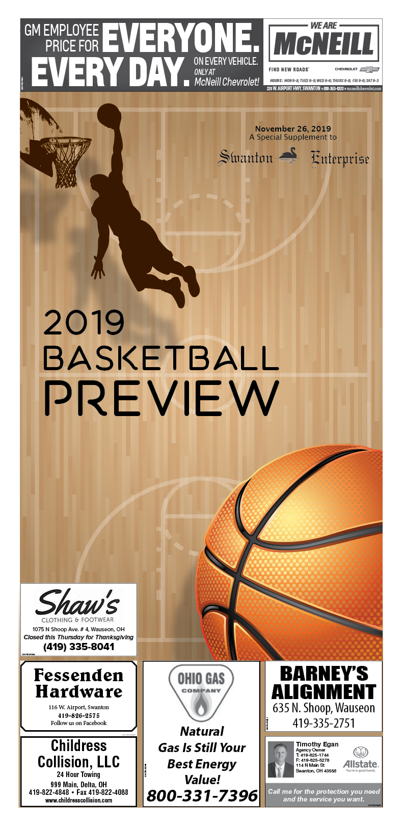 Basketball Preview 2019