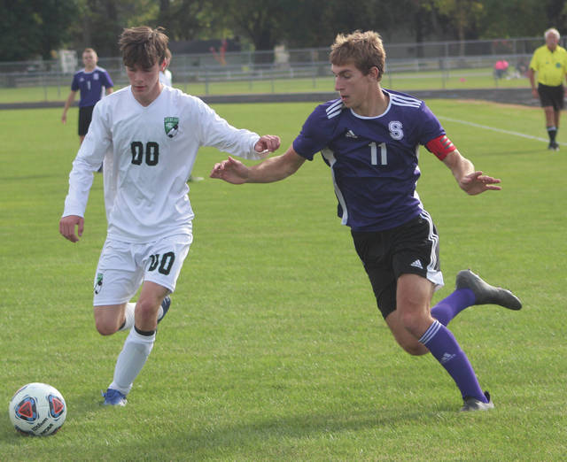Riley Hensley of Swanton, right, was named All-Ohio.