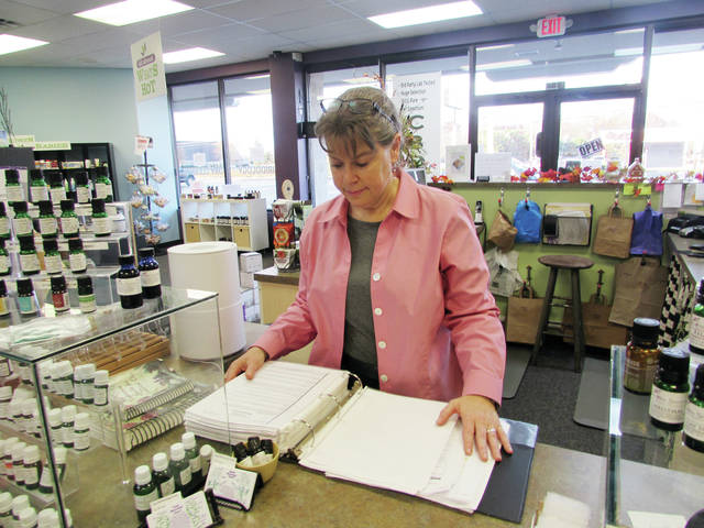 Caroline Richer, owner of All About Health Store in Wauseon, said Small Business Saturday gives her employees the opportunity to shine with customer service.