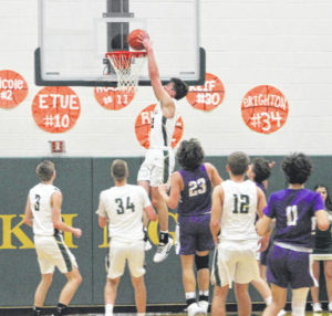 Evergreen pulls away from Swanton
