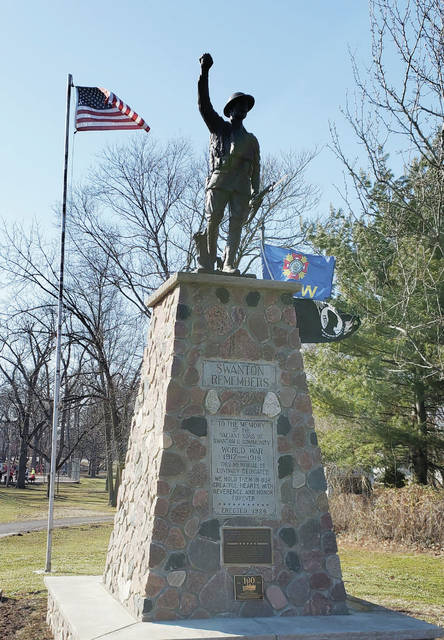 Swanton's Spirit of the American Doughboy will be featured in a World War I Centennial Commission coffee table book.