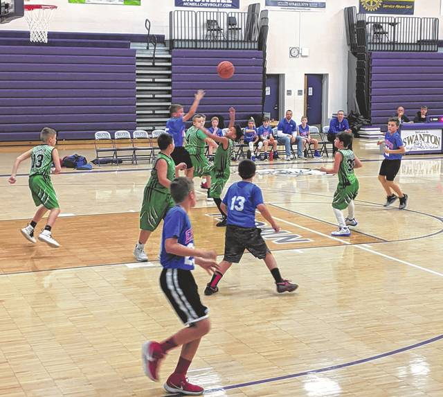 A youth basketball tournament was held recently in Swanton with teams from around the area competing.