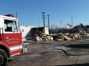 Fire leads to partial demo of Scottdel building