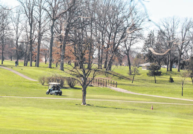 Golfers were out at Valleywood Golf Club Thursday as temperatures warmed.