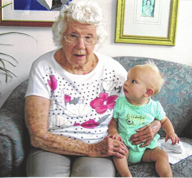 Margaret Ann Szabo's 100th birthday is April 28.