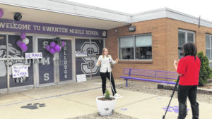 Swanton student shines in global contest