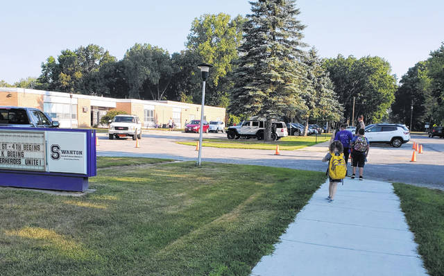 Students have returned to in-person classes at Swanton Elementary School.