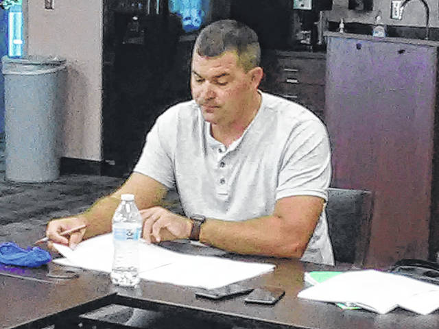 Fulton County EMS Coordinator Clayton O'Brien outlined a proposal for a new county EMS system at an executive board meeting held Tuesday.