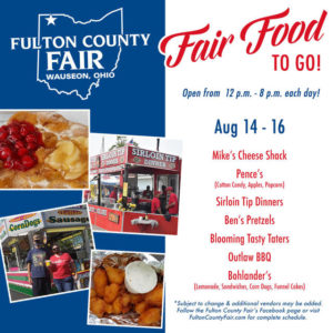 Fair food events continue at Fulton County Fairgrounds