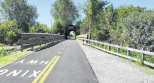 Paved NORTA trail proven attraction