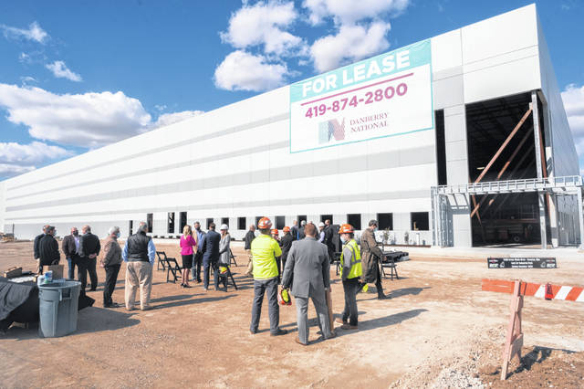 A new building in Land-Air Industrial Park is scheduled for completion in December.