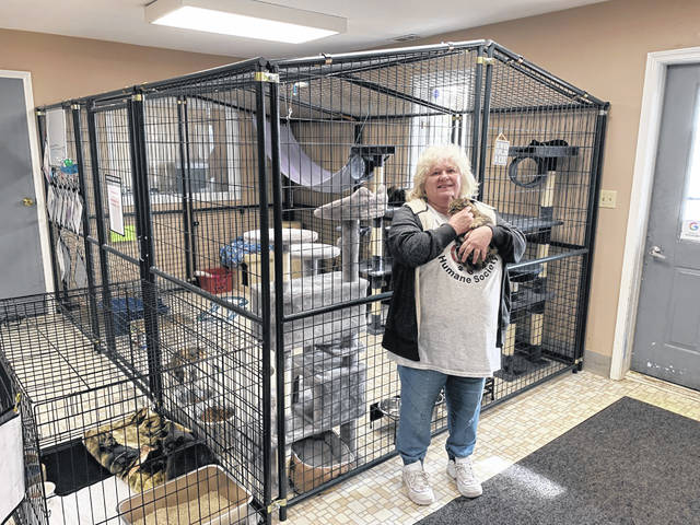 """Fulton County Humane Society co-owner and treasurer Tracy Wanner said a new program, """"Trap, Neuter, Return,"""" will aid in reducing the county's stray and feral cat population."""