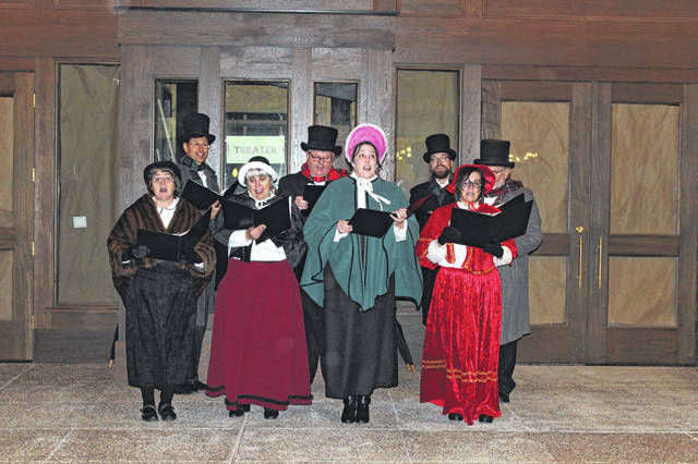 Carolers will share festive Christmas music during 1920s Holidays on Main Street.