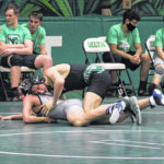 Delta wrestling takes third at state duals