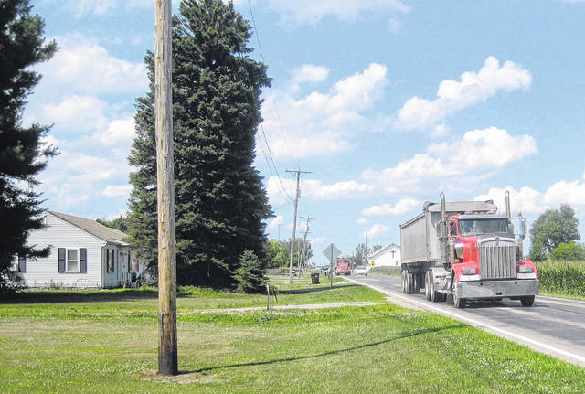 Residents of a mile-long section of County Road 10 in Fulton County object to what they say is unwanted commercial truck traffic causing dangerous situations.