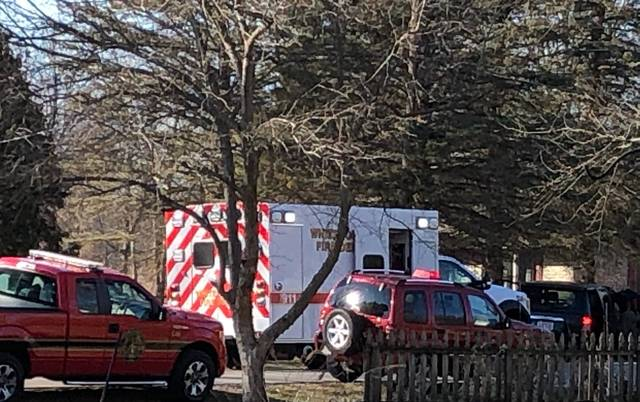 An arrest was made following a crash near Swanton on Wednesday, March 3.