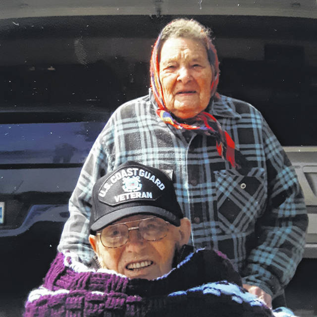 Marion Lehman and Florence Salisbury. Both are 100 years old, and graduated from Fulton Centralized School in the Class of 1940.