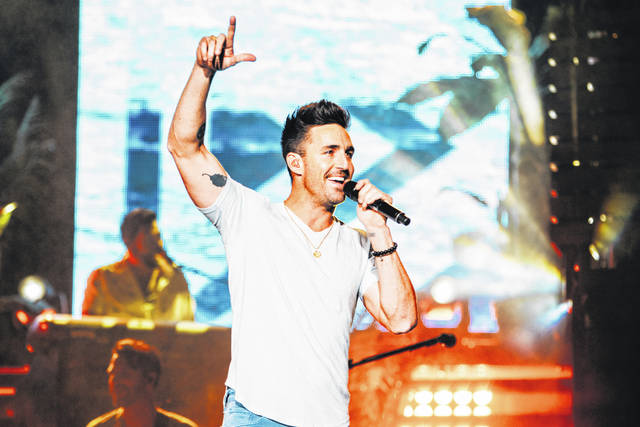 Jake Owen will perform at this year's Fulton County Fair.