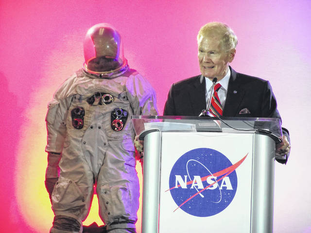 NASA Administrator Sen. Bill Nelson spoke Wednesday at the renaming dedication of the NASA Plum Brook Station to the Neil A. Armstrong Test Facility.
