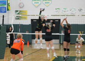 Vikings overcome Tigers in straight sets