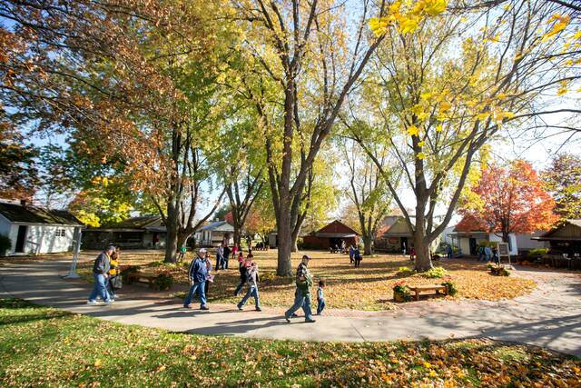 """Sauder Village will present """"Fall on the Farm on Saturday. Scouts will receive a reduced admission price."""