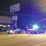 DUI checkpoint in memory of Bailes