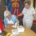 Local author welcomed home