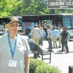 Point veteran takes 'Honor Flight'